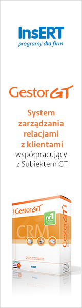 Gestor GT: System zarządzania relacjami z klientami współpracujący z Subiektem GT