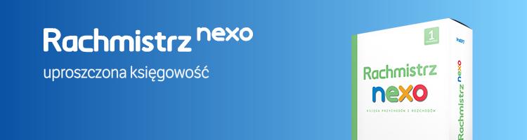 Rachmistrz nexo: uproszczona księgowość