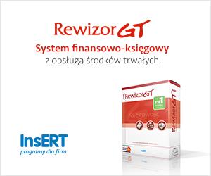 Rewizor GT: System finansowo-księgowy z obsługą środków trwałych